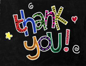 SPL Food Drive-Thank You