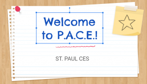 Welcome To St. Paul's PACE Program